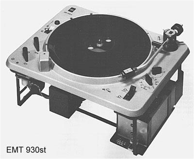 EMT930 ターンテーブル写真