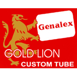 Genalex GOLD LIONロゴ