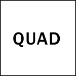QUAD クオードロゴ