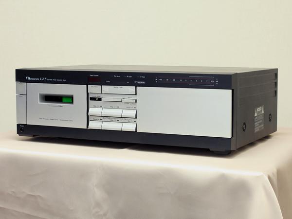 Nakamichi LX-5 カセットデッキ写真