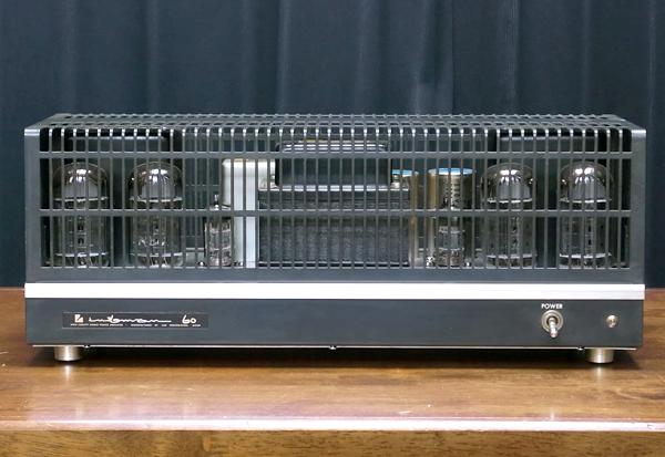 LUXMAN MQ60 ラックスマン真空管アンプ写真