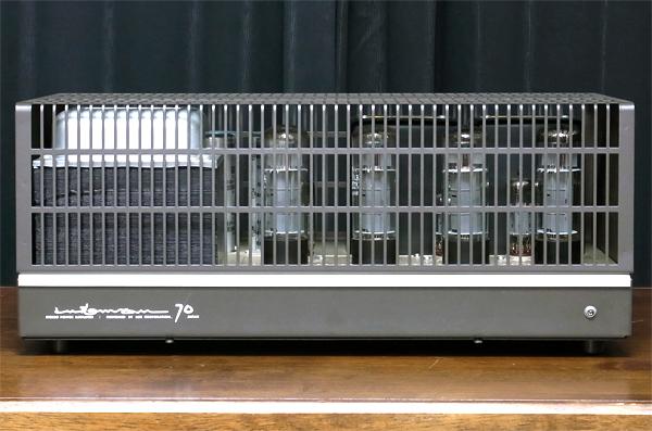 LUXMAN MQ70 ラックスマン真空管アンプ写真