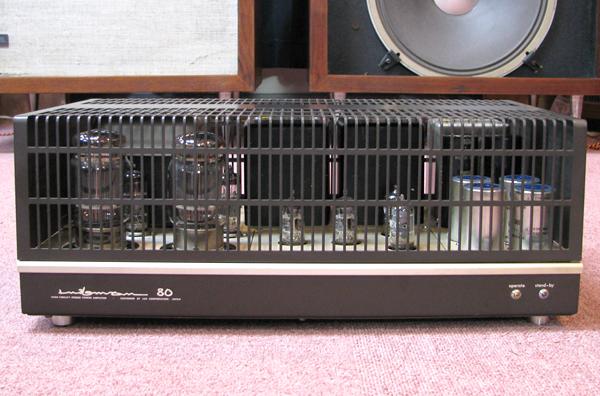 LUXMAN MQ80 ラックスマン真空管アンプ写真