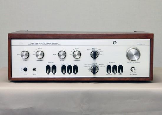 LUXMAN L-505V プリメインアンプ写真