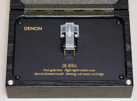 DENON DL-103GL カートリッジ写真