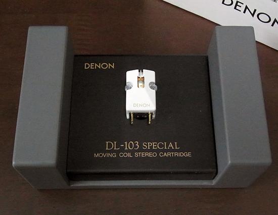 DENON DL-103SL デノン MCカートリッジ写真
