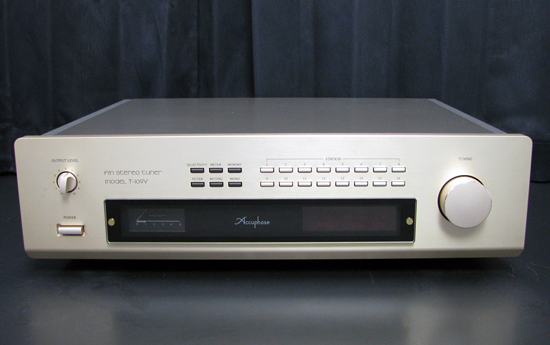 Accuphase T-109V アキュフェーズ チューナー写真