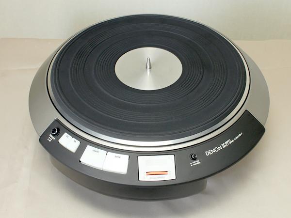 DENON DP-6000 デノン/デンオン ターンテーブル写真