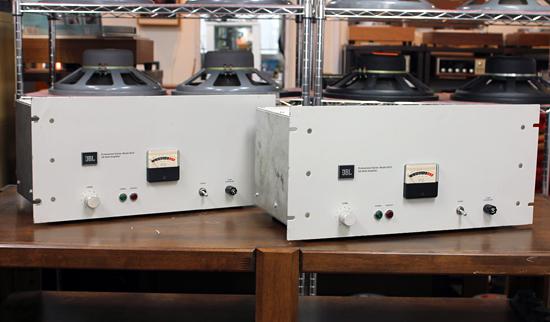JBL Model 6010 トランジスタパワーアンプ写真