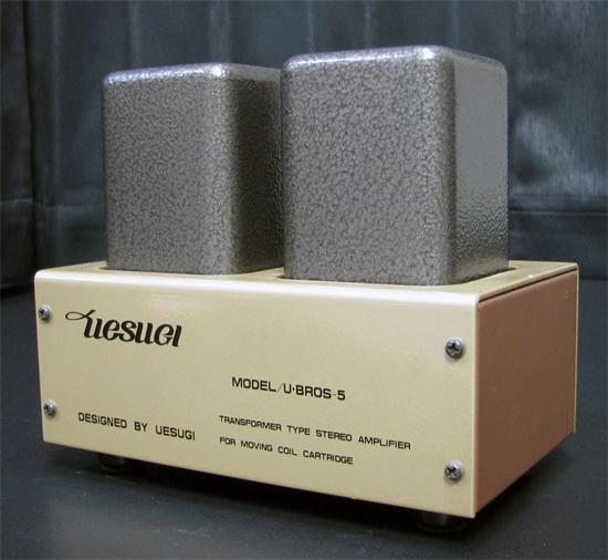 UESUGI BROS-5 ウエスギ 昇圧トランス写真